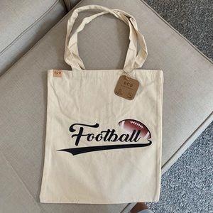 Handbags - New Football Cotton Canvas Eco Tote Bag